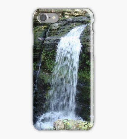 Beautiful waterfall in Pennsylvania iPhone Case/Skin