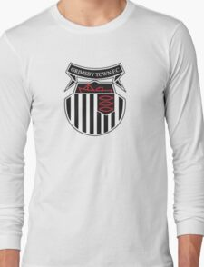 Grimsby Town FC Badge Long Sleeve T-Shirt
