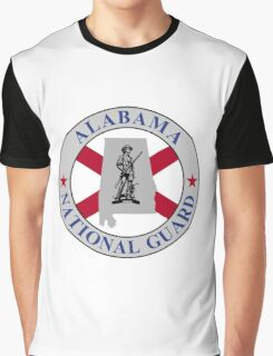 Seal of the Alabama National Gaurd Graphic T-Shirt