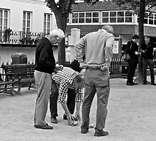 Petanque (2) by Hayley Musson