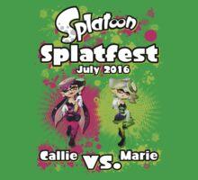 Splatfest July 2016 - Callie v Marie Kids Tee