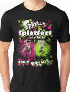 Splatfest July 2016 - Callie v Marie Unisex T-Shirt