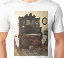 Large Organ in Parlor Unisex T-Shirt
