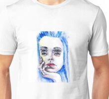 Double eyed girl Unisex T-Shirt