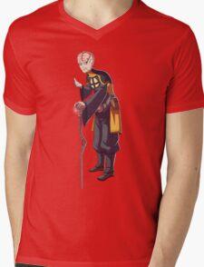 Dlein Mens V-Neck T-Shirt