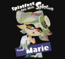 Splatfest Team Marie v.1 Kids Tee