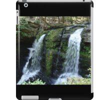 Beautiful waterfall in Pennsylvania iPad Case/Skin