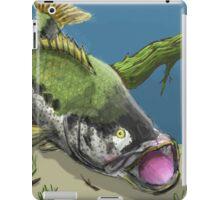 Bass fishing iPad Case/Skin