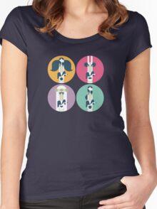 Frank Zappa (portrait) Women's Fitted Scoop T-Shirt