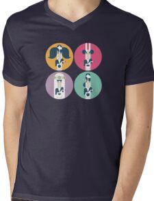 Frank Zappa (portrait) Mens V-Neck T-Shirt