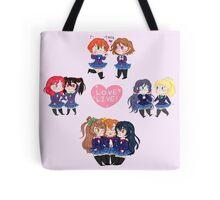 Love Live chibis batch! Tote Bag