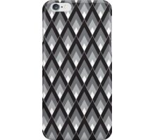 Diamonds (Black) iPhone Case/Skin