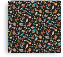 just birds dark Canvas Print