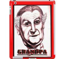 grandpa vampire iPad Case/Skin