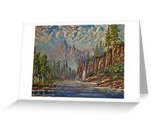 Rocky Mountain Haze Greeting Card