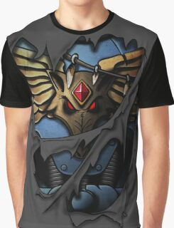 Space Wolves Armor Graphic T-Shirt
