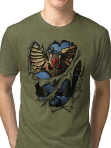 Space Wolves Armor Tri-blend T-Shirt
