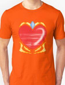 Diamond-Heart Unisex T-Shirt