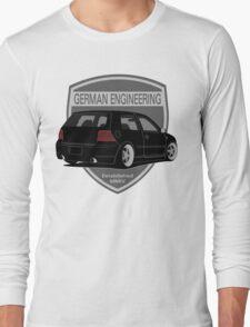 German Engineering -Black Long Sleeve T-Shirt