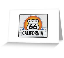 California Route 66 Greeting Card