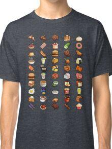 8Bit Pixel Food Classic T-Shirt