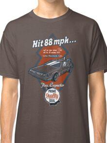 Time Machine Car Classic T-Shirt