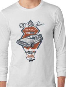 Time Machine Car Long Sleeve T-Shirt