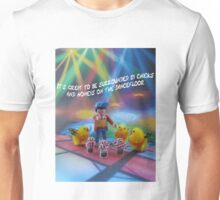Chicks and honeys on the dancefloor Unisex T-Shirt