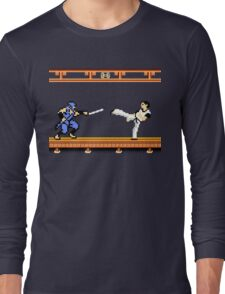 Ninjutsu vs. Kung Fu Long Sleeve T-Shirt