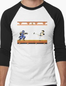 Ninjutsu vs. Kung Fu Men's Baseball ¾ T-Shirt