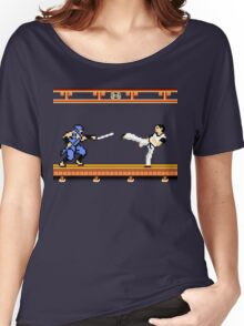 Ninjutsu vs. Kung Fu Women's Relaxed Fit T-Shirt