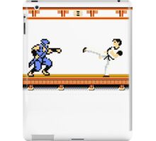 Ninjutsu vs. Kung Fu iPad Case/Skin