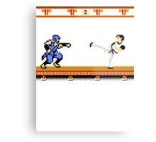 Ninjutsu vs. Kung Fu Metal Print
