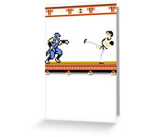 Ninjutsu vs. Kung Fu Greeting Card