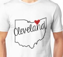 Heart Cleveland Unisex T-Shirt