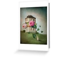 House of Flowers Greeting Card