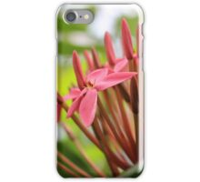 Power to the Flower: Pink Edition iPhone Case/Skin