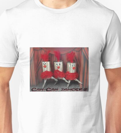 Can-can dancers Unisex T-Shirt