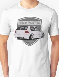 German Engineering -Silver Unisex T-Shirt