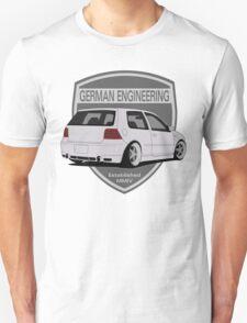 German Engineering -Silver T-Shirt