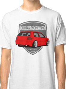 German Engineering -Red Classic T-Shirt