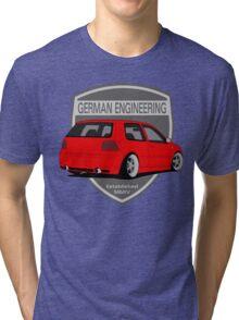 German Engineering -Red Tri-blend T-Shirt