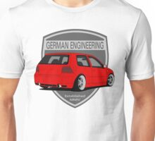 German Engineering -Red Unisex T-Shirt
