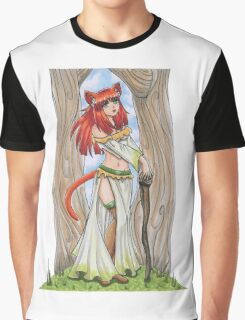 Woodland Stroll Graphic T-Shirt