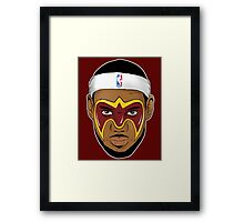 Ultimate Lebron James Framed Print
