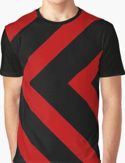 Red and Black Vector Designs Graphic T-Shirt