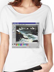 Microsoft Paint Art Women's Relaxed Fit T-Shirt