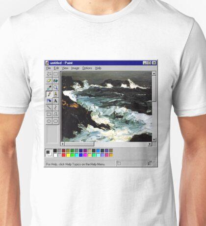 Microsoft Paint Art Unisex T-Shirt