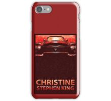 Christine Stephen King  iPhone Case/Skin