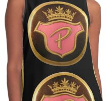 """Monogram Crest for """"The Royal Order of Pot Smokers"""" Contrast Tank"""